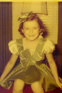 1954 shamrock dance costume 2x