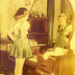 1954 shamrock dance costume x